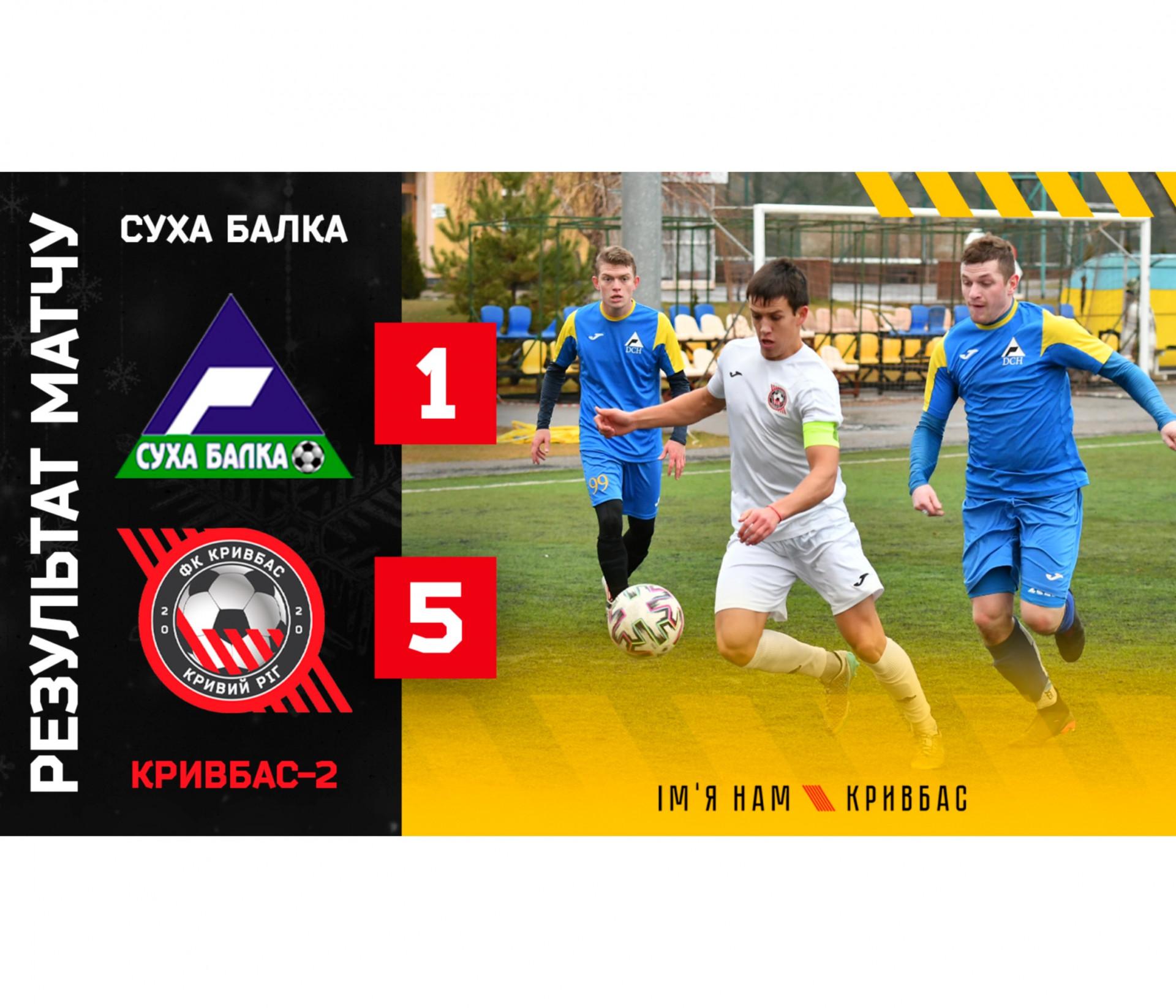 """""""Суха Балка"""" - """"Кривбас-2"""" 1:5}"""