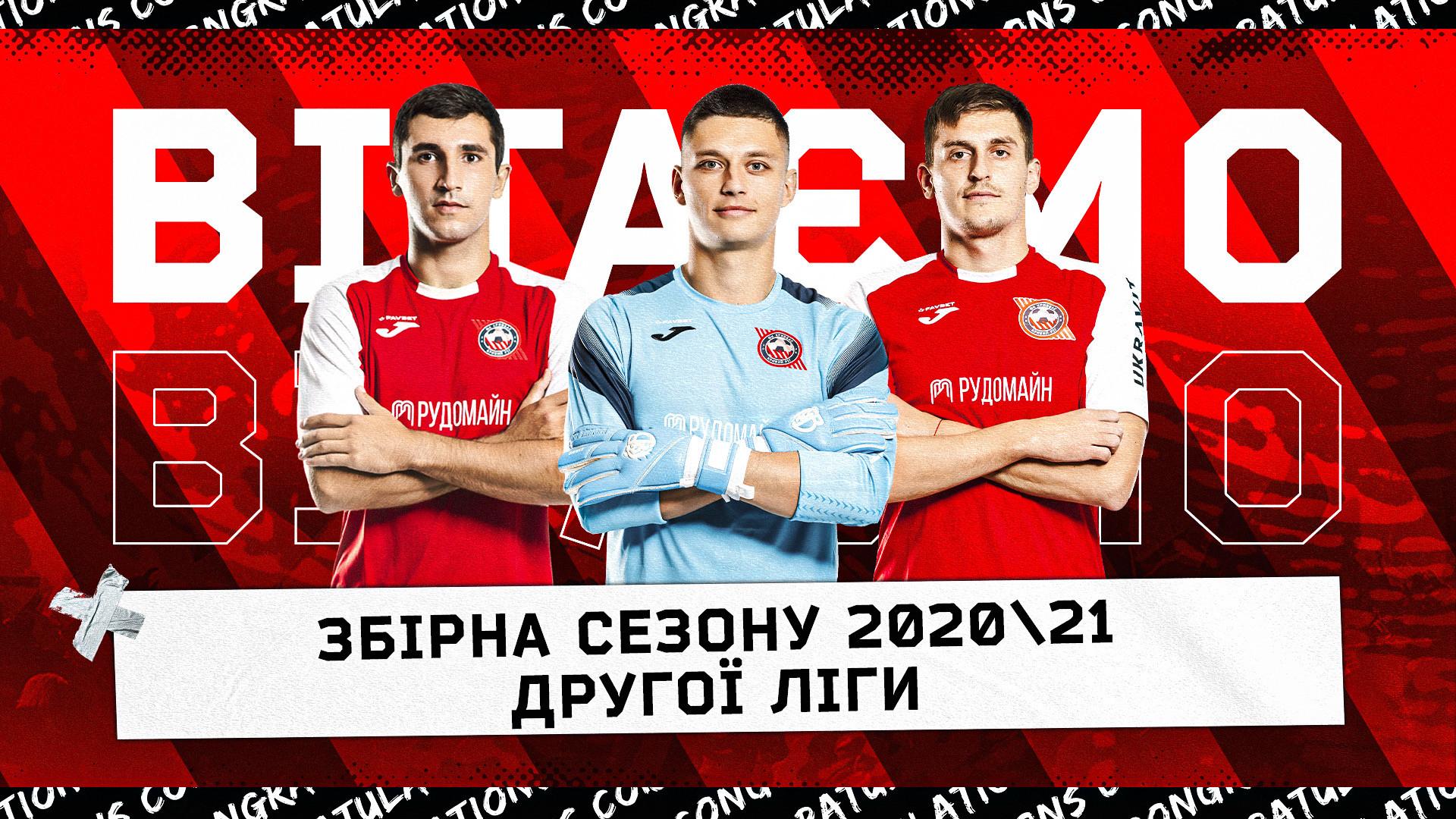 """Гравці """"Кривбасу"""" - серед найкращих у минулому сезоні}"""
