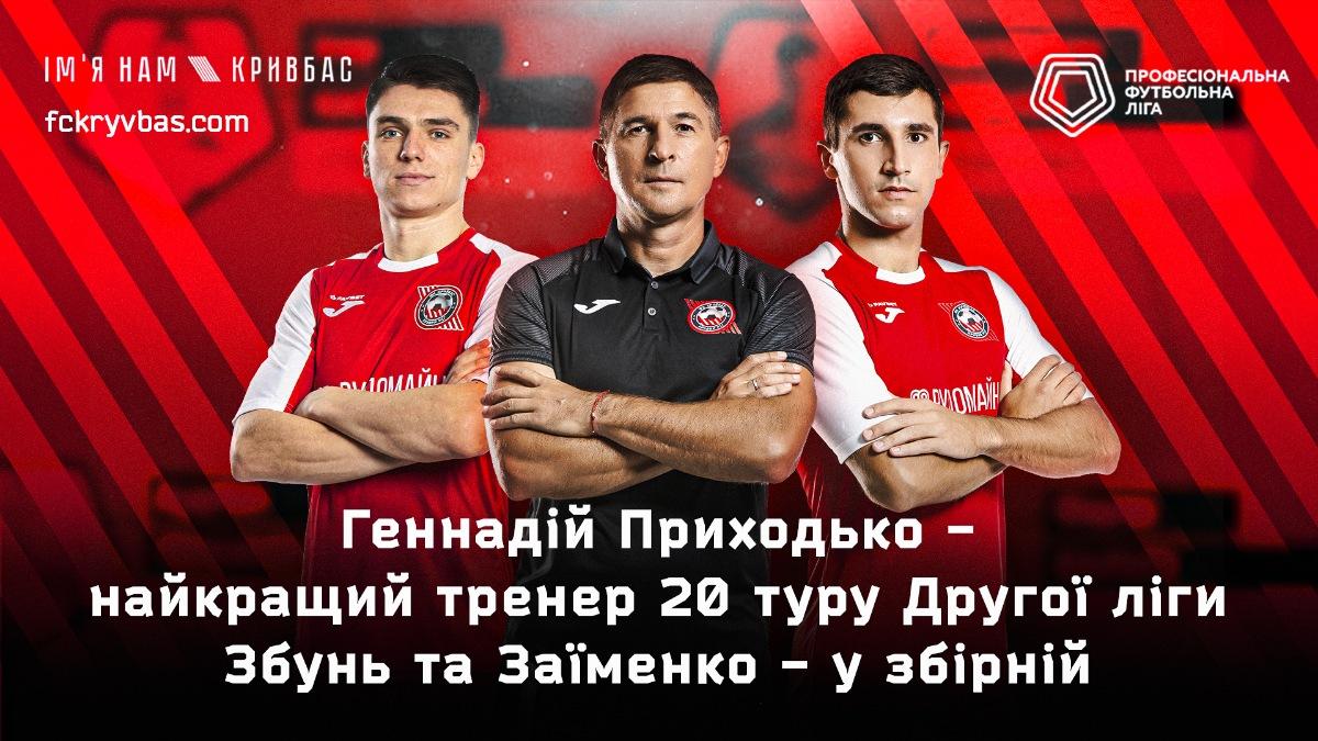 Геннадій Приходько - найкращий тренер 20 туру Другої ліги!}